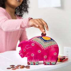 Ethically Made Piggy Bank - A Gift That Gives Back