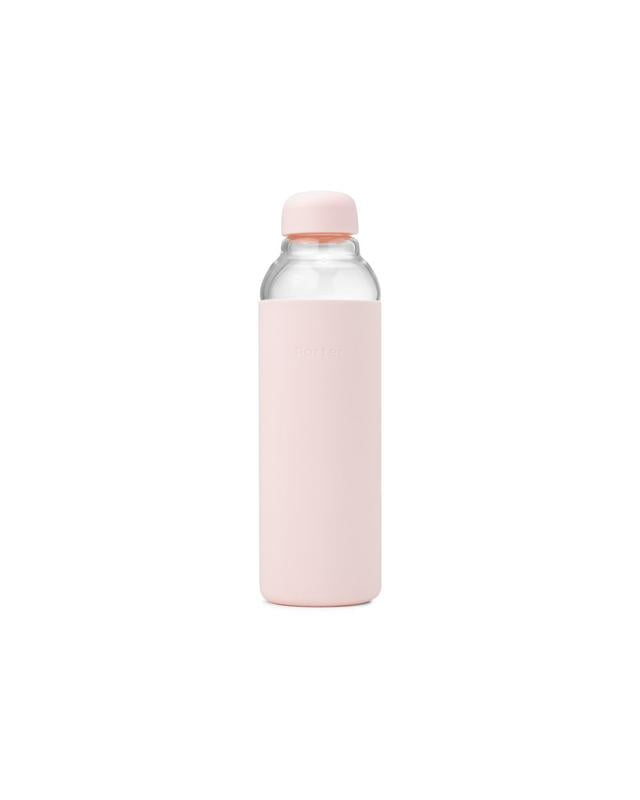 Resuable Glass Water Bottle - Blush