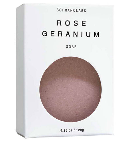 Handmade Rose Geranium Vegan Soap