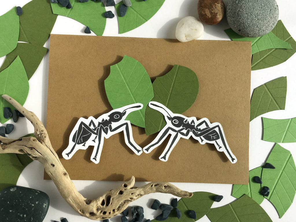 Leaf Cutter Ant Card