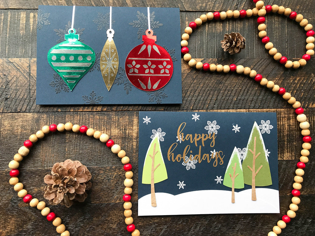 Christmas In July Holiday Cards Diy Christmas Card Tutorial Blog