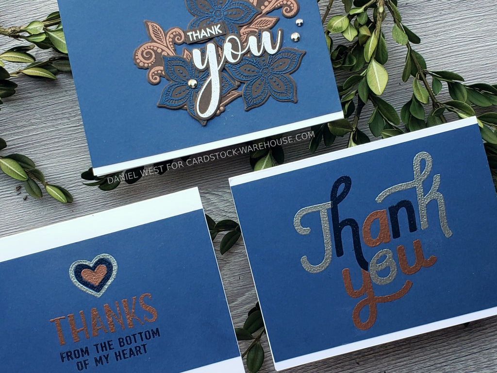 Handsome Boho Thank You Cards Set