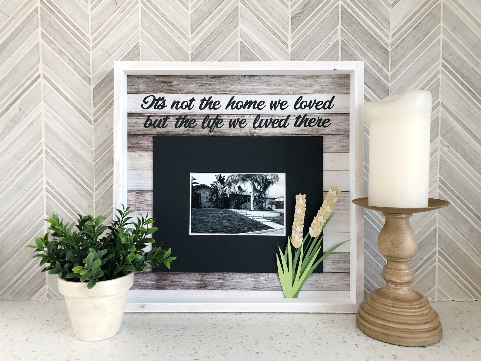 First Home Memory Frame