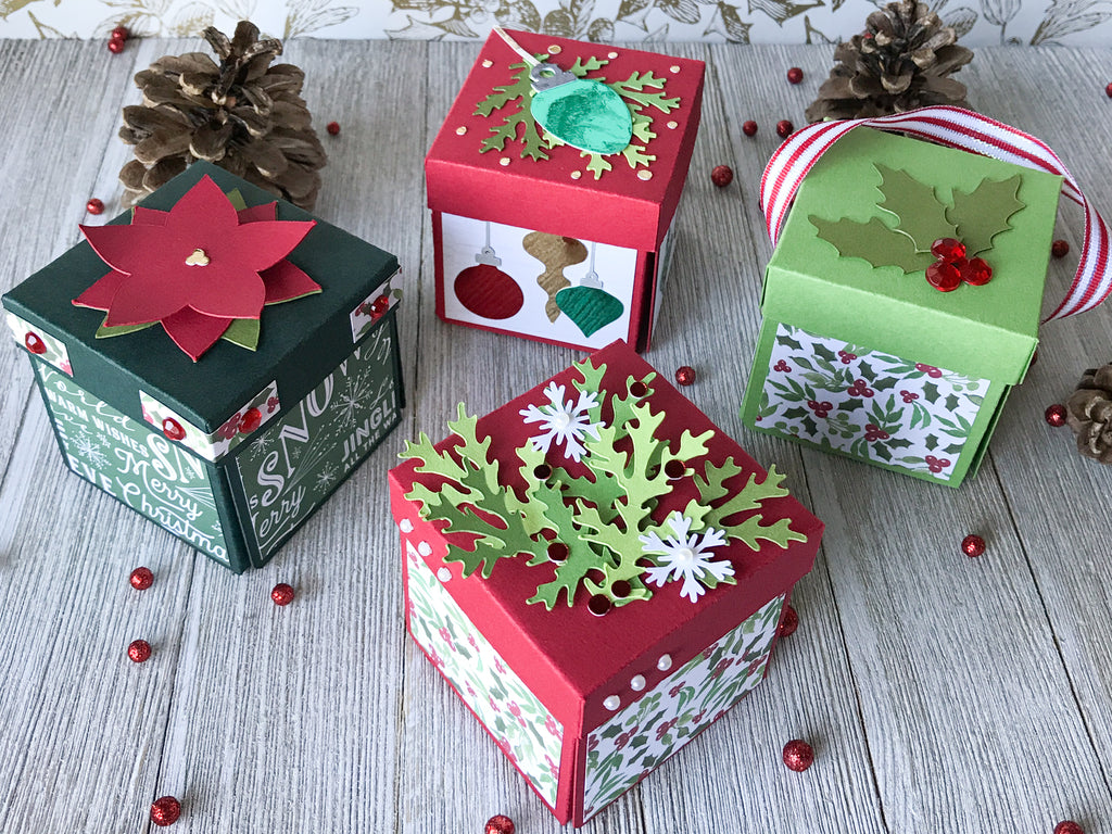 Mini Christmas Explosion Boxes – Cardstock Warehouse Paper ...