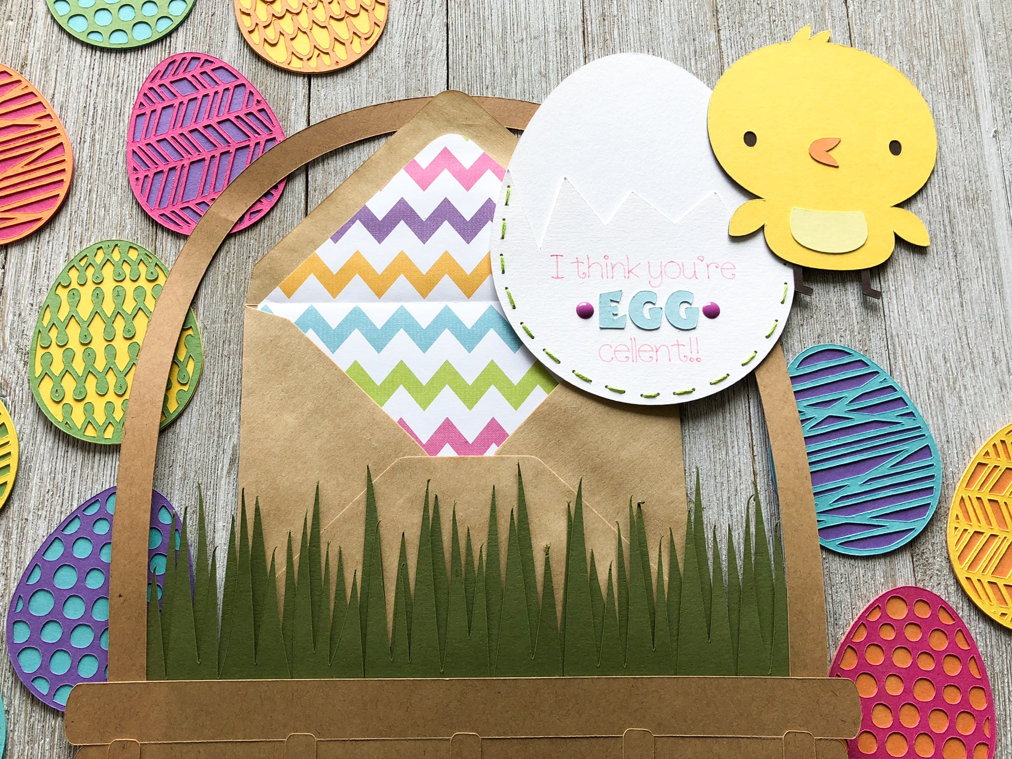 DIY Easter Peek-A-Boo Egg Card