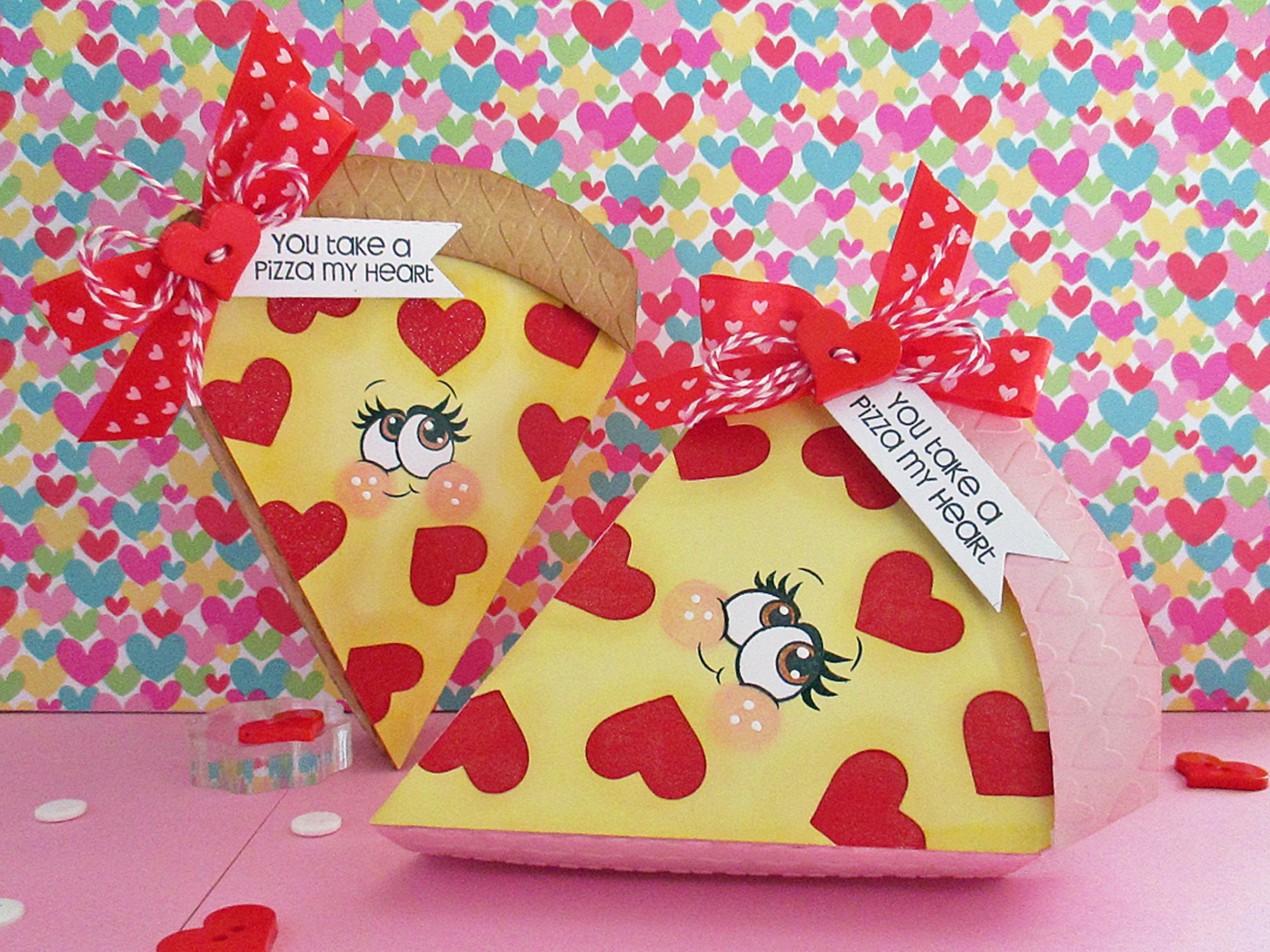Take A Pizza My Heart Valentine Gift Box