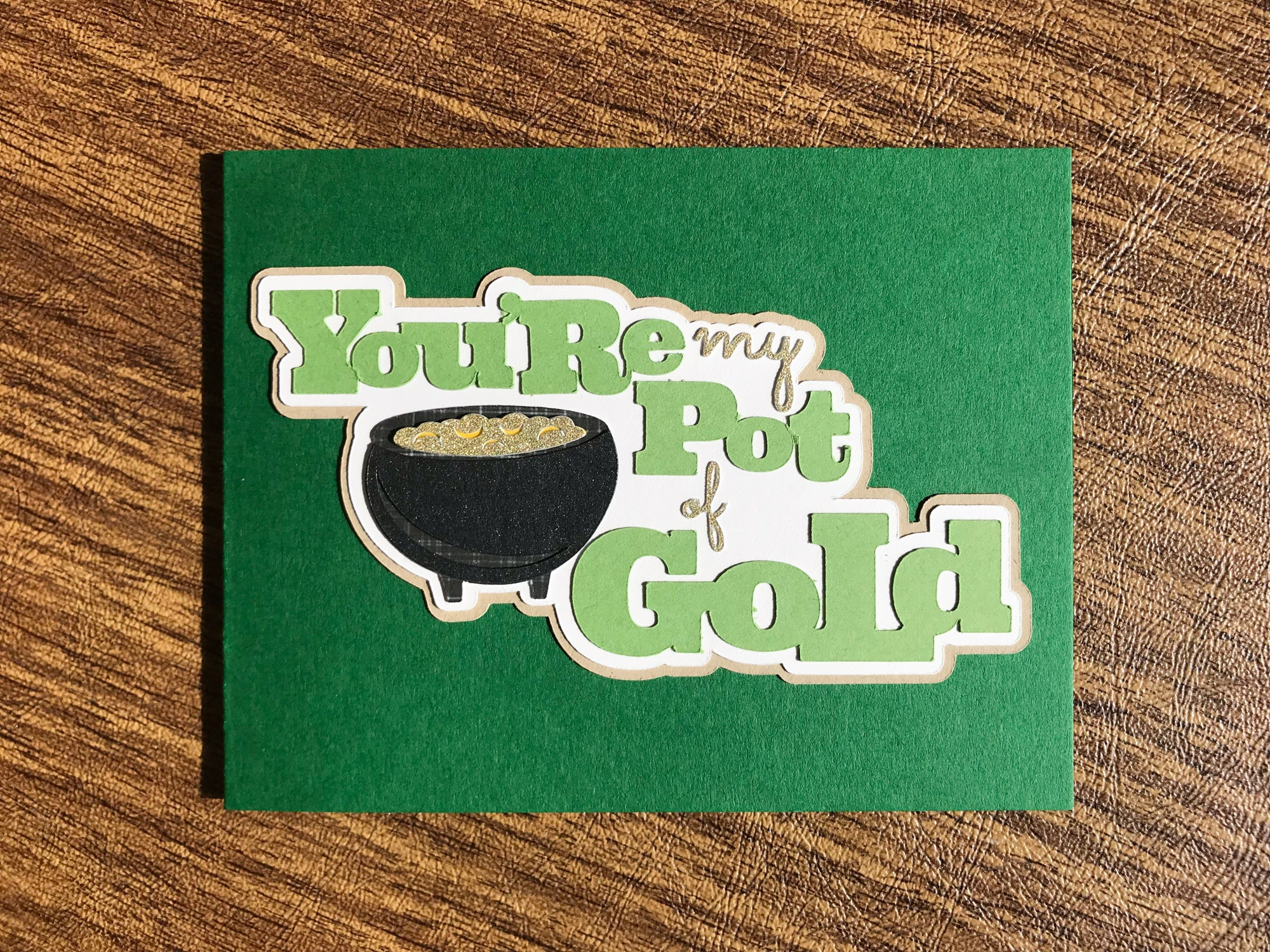 Pot of Gold St. Patrick's Day Cards