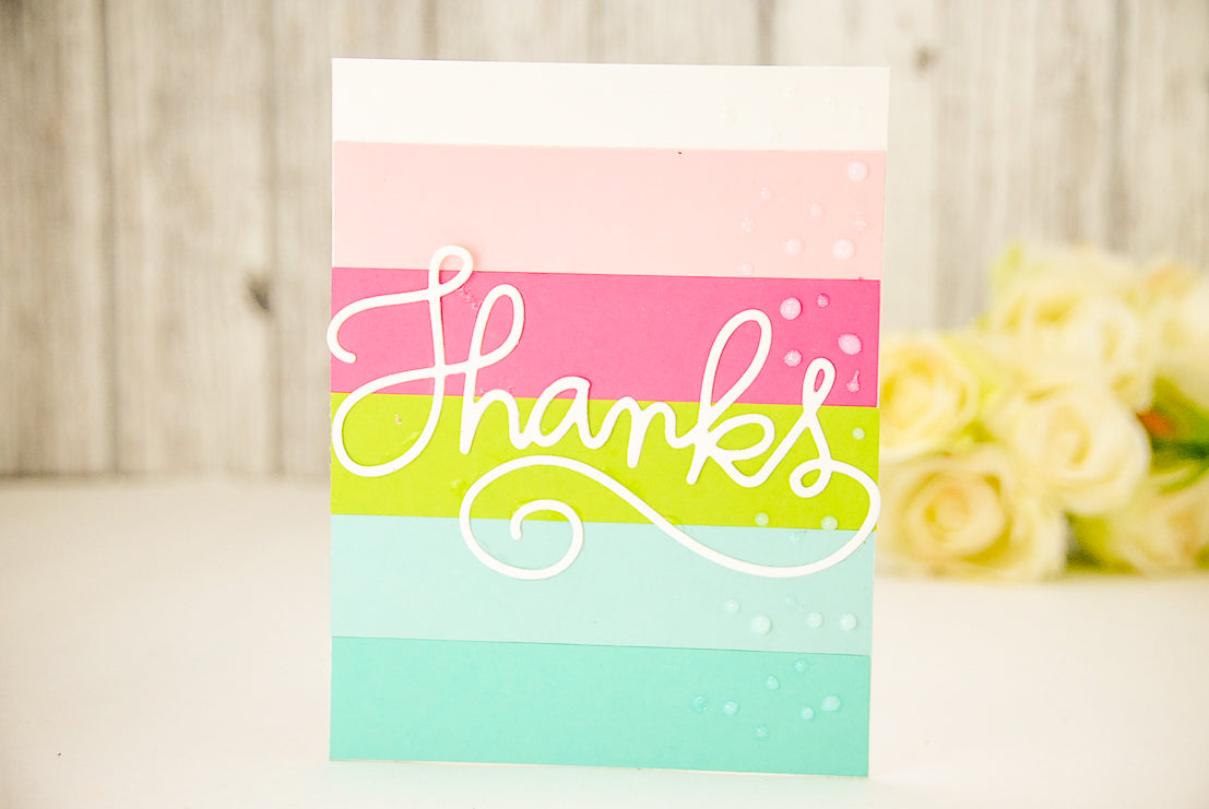 Summer Fun Thank You Card
