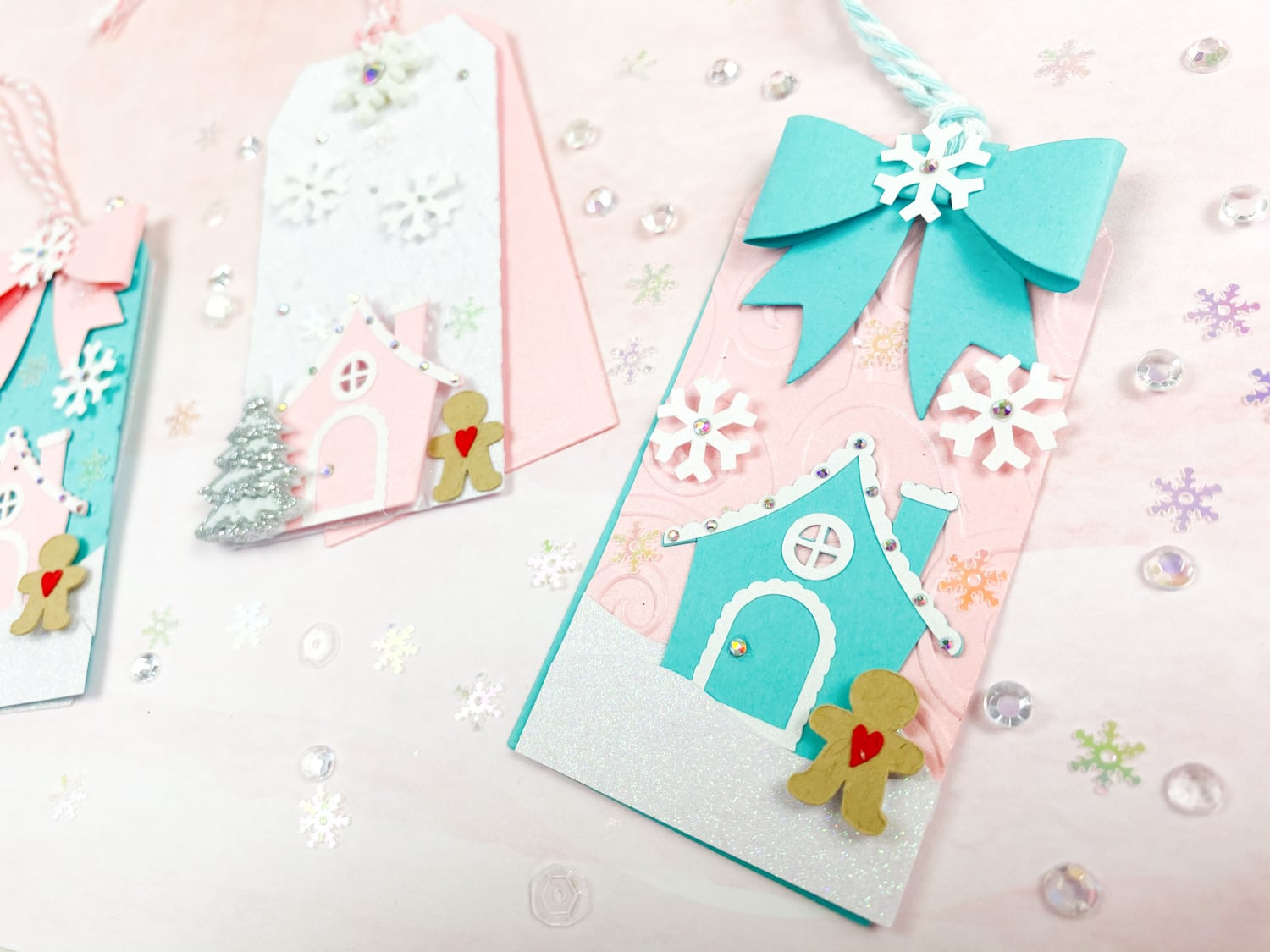 Gingerbread House Gift Tags