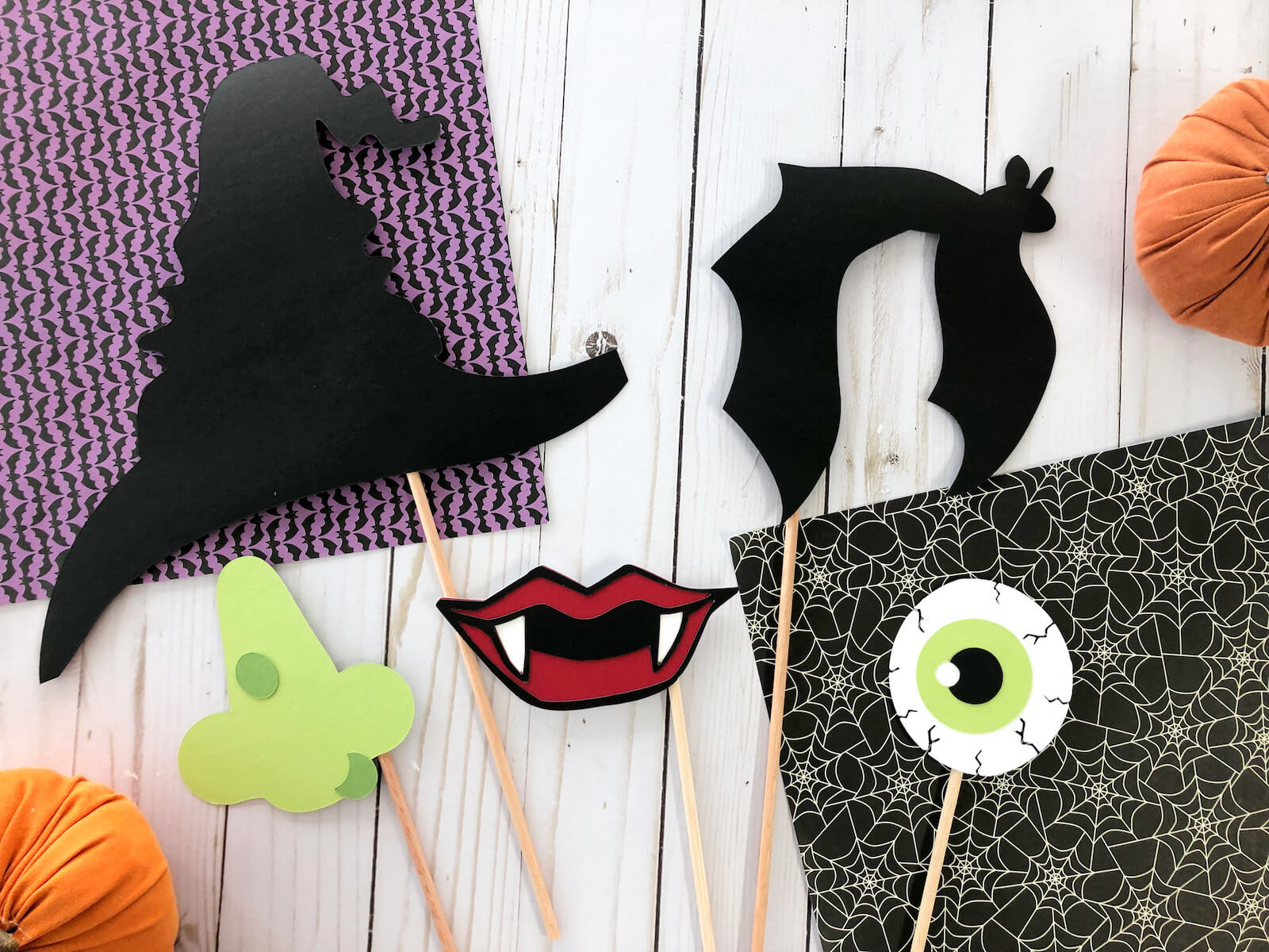 Halloween Photobooth Props