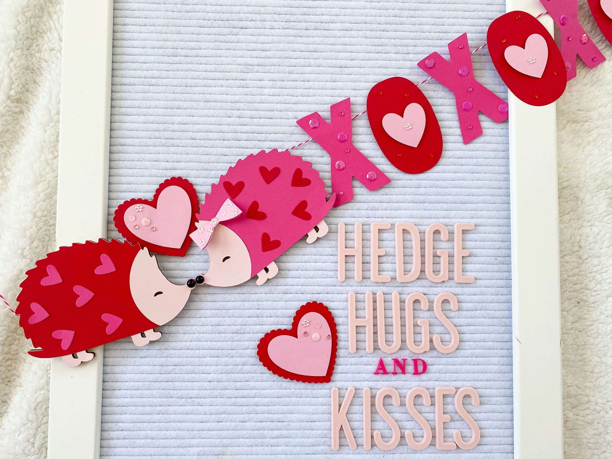 HedgeHUGS and Kisses Banner