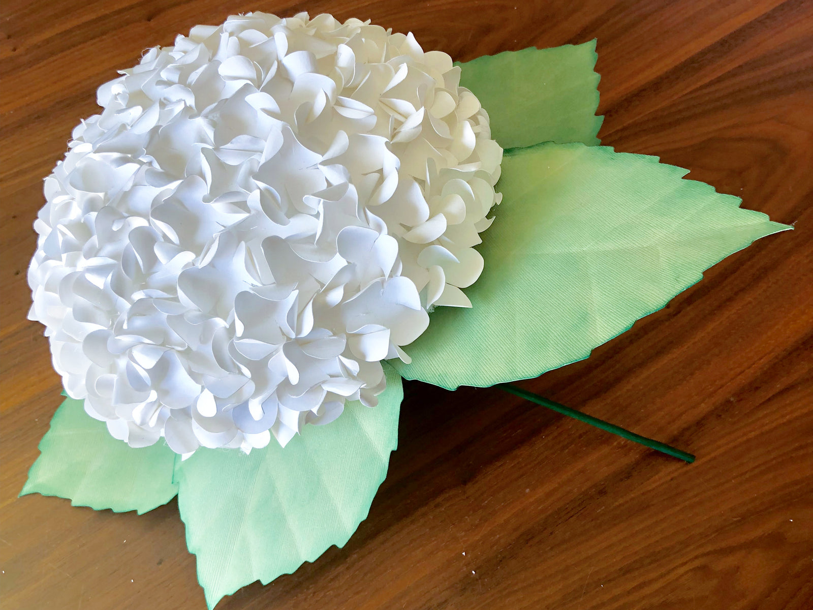 Diy Paper Hydrangea Flower Bouquet Cardstock Warehouse Paper