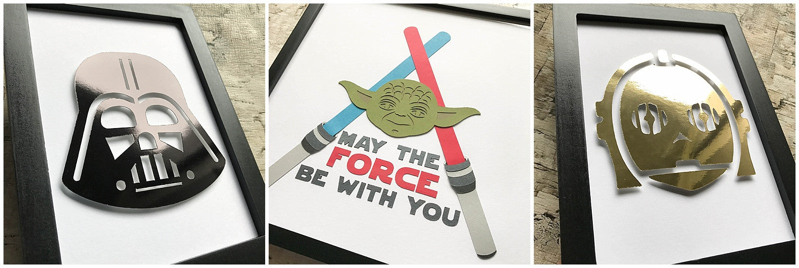 Star Wars Day Cardstock Paper Creations
