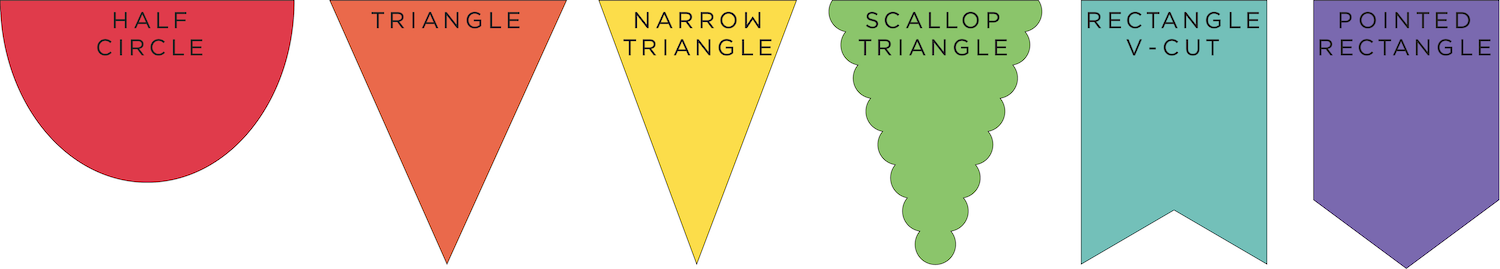 banner pennant options