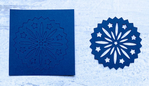 two die cuts showing a dull vs sharp blade