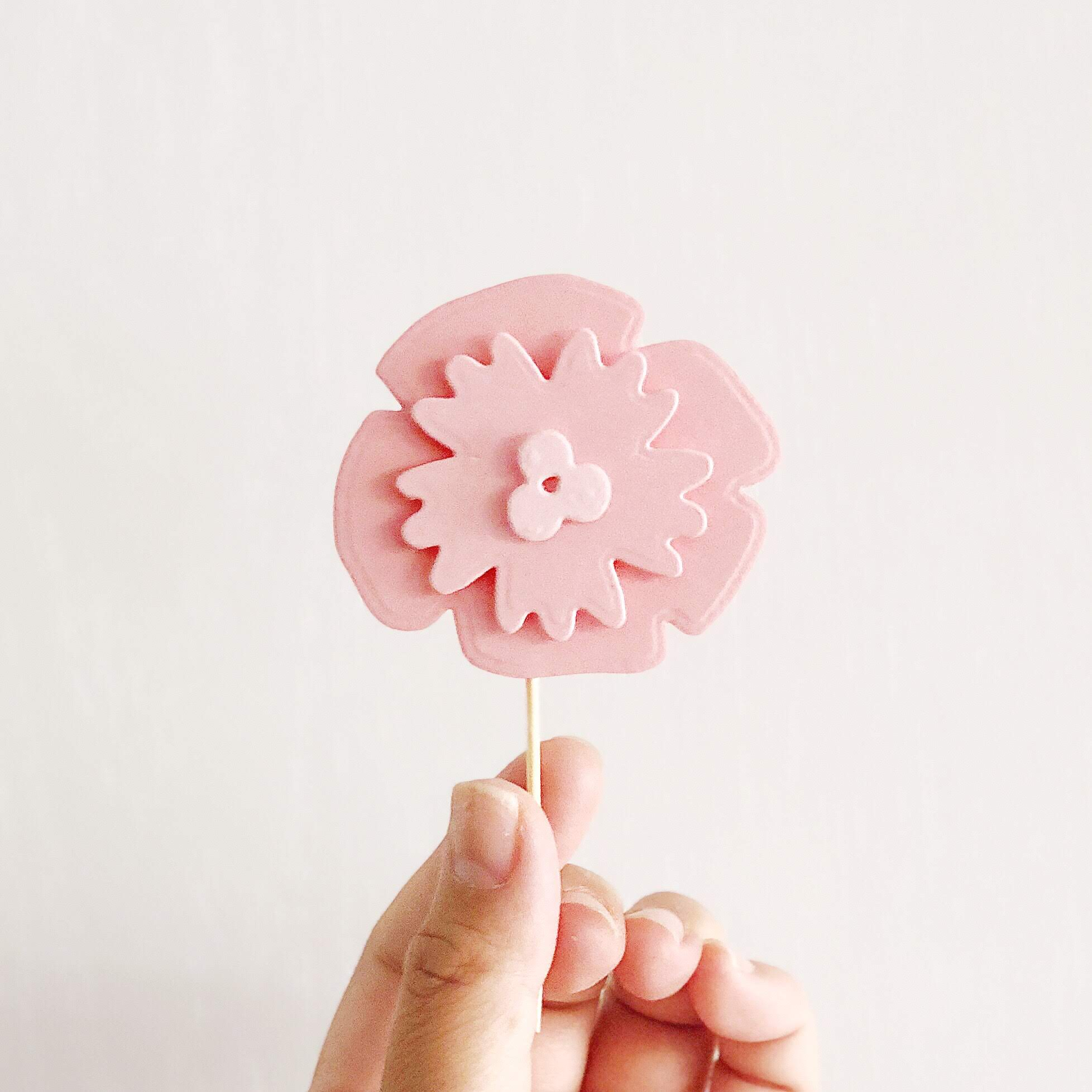 DIY Ombre Layered Cupcake Toppers