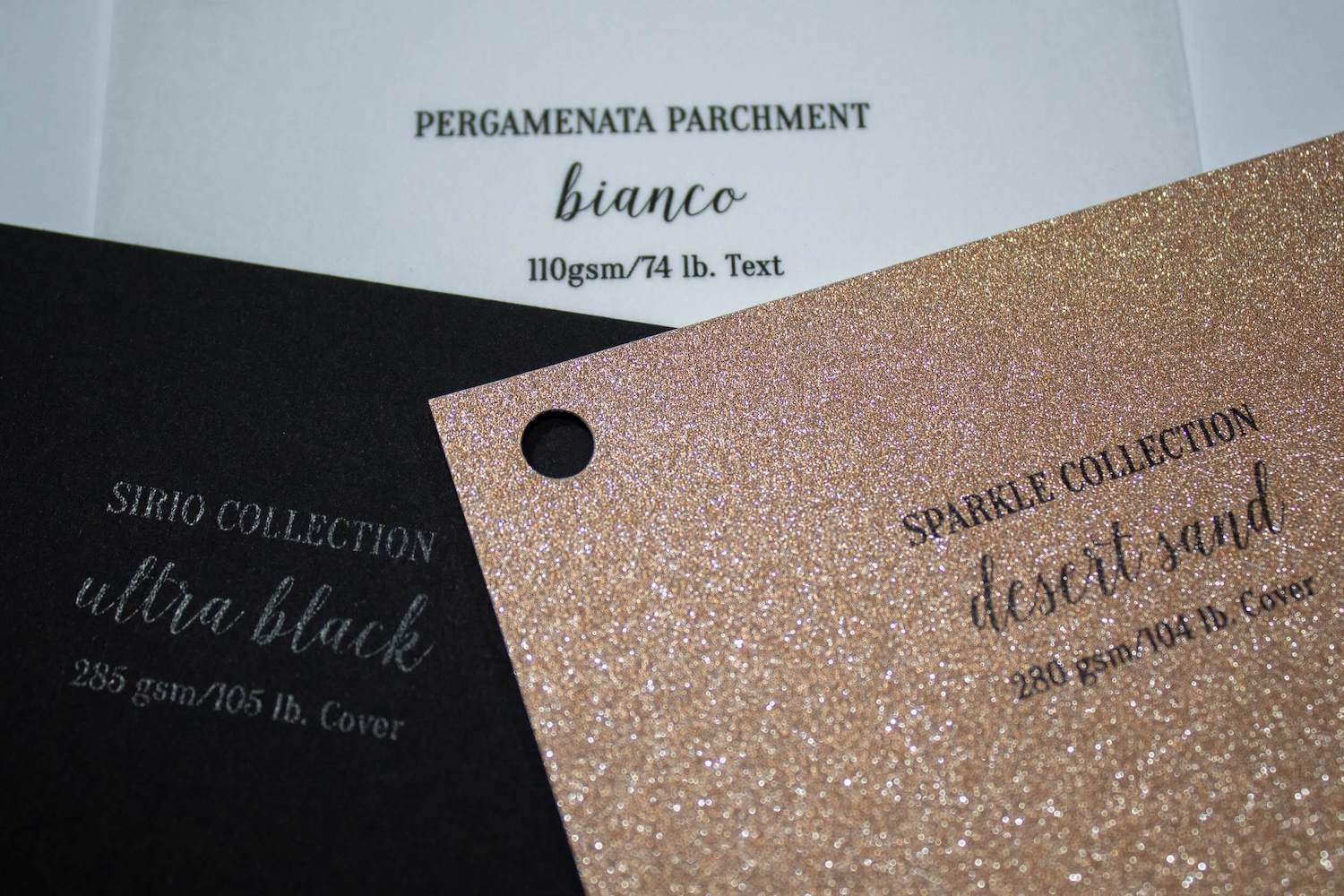 Fabulous Friend Die Cut Sparkle Paper Greeting Card Paper Swatches