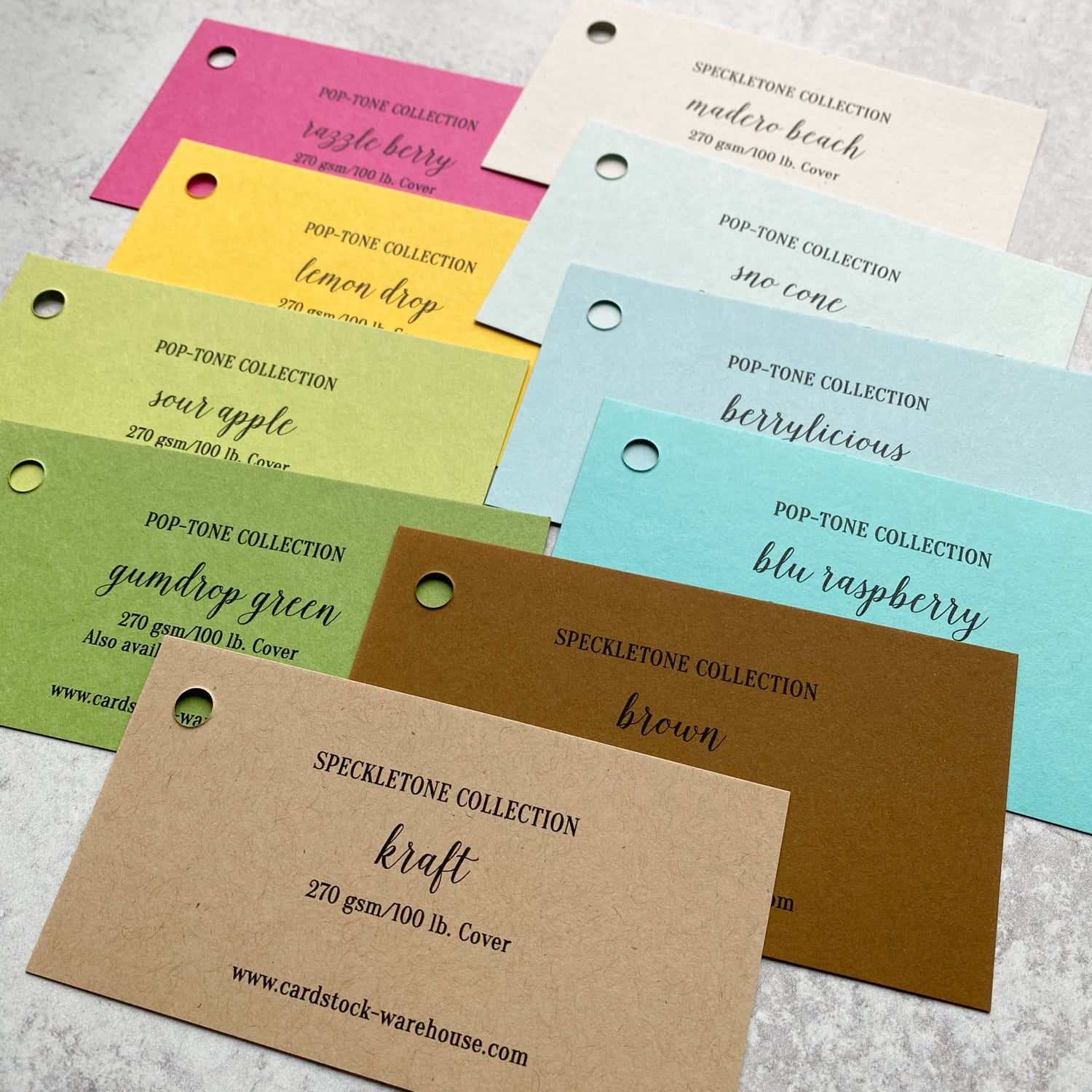 Island Breeze Multi-Pack Paper Swatches