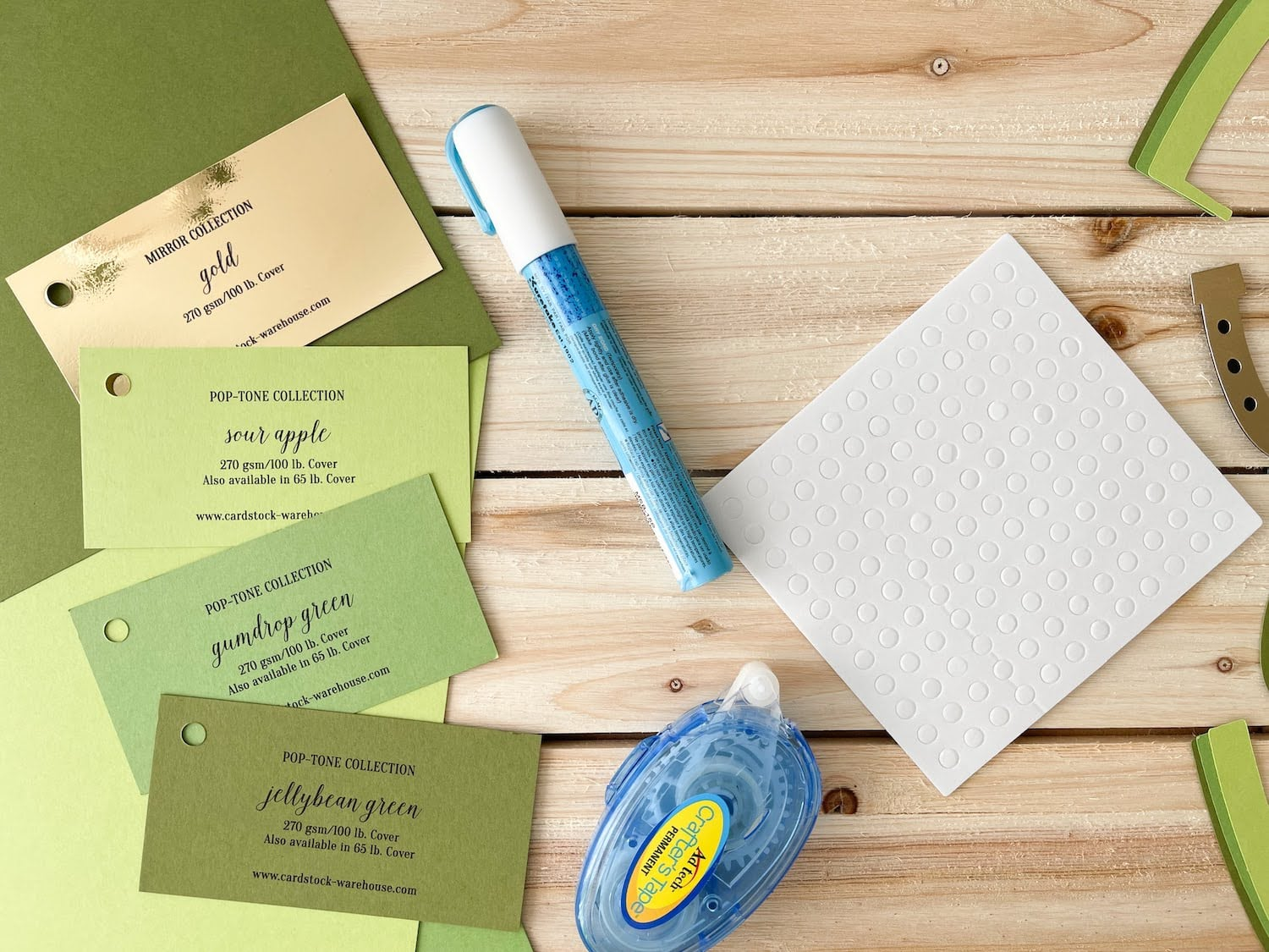 St. Patrick's Day Luck Card Supplies