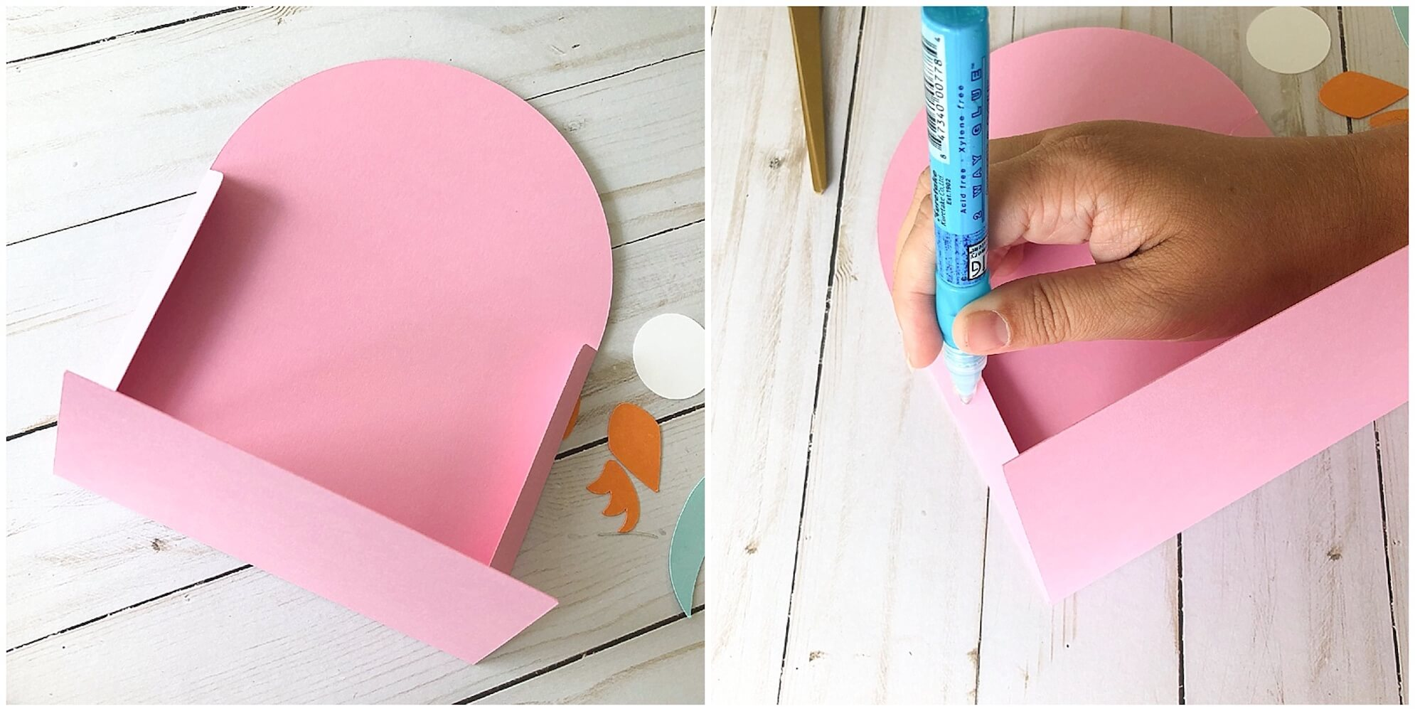 Paper Owl Envelope Assembly