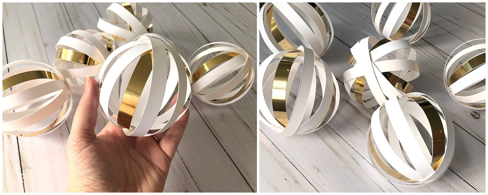 DIY Wedding Cardstock Paper Ball Garland