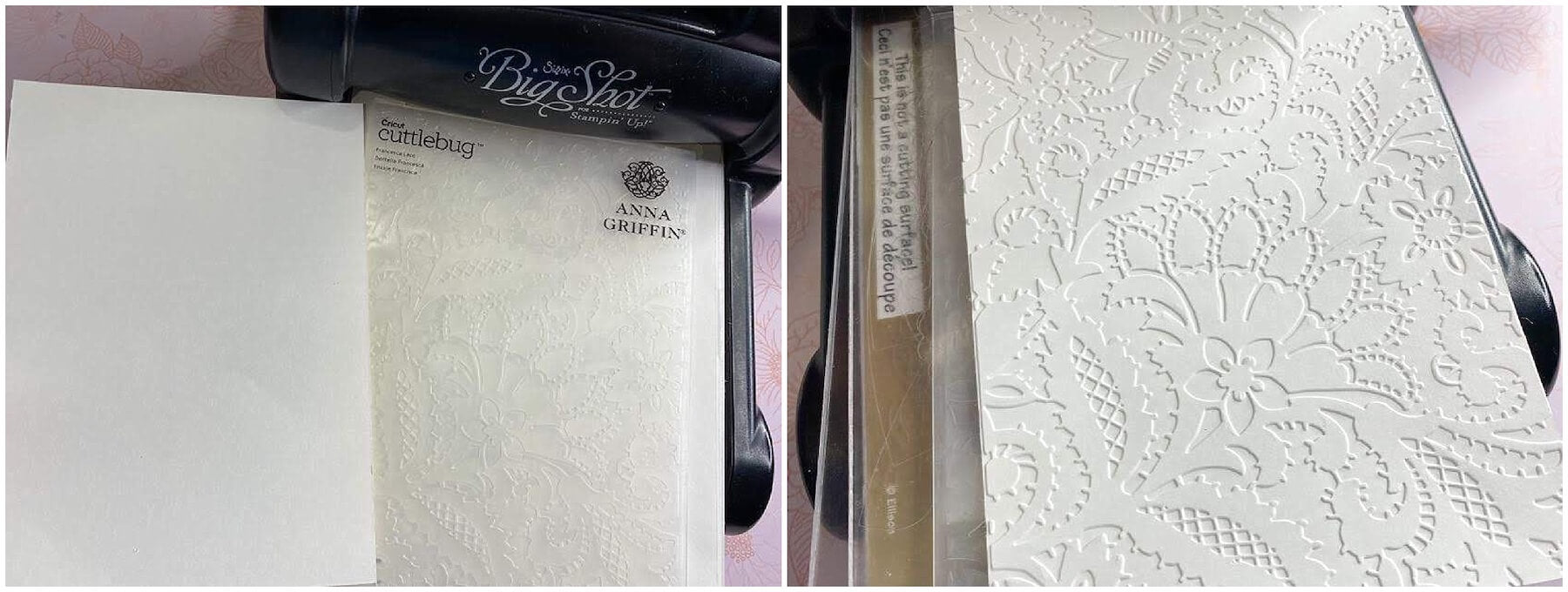 Embossing Pure White Paper