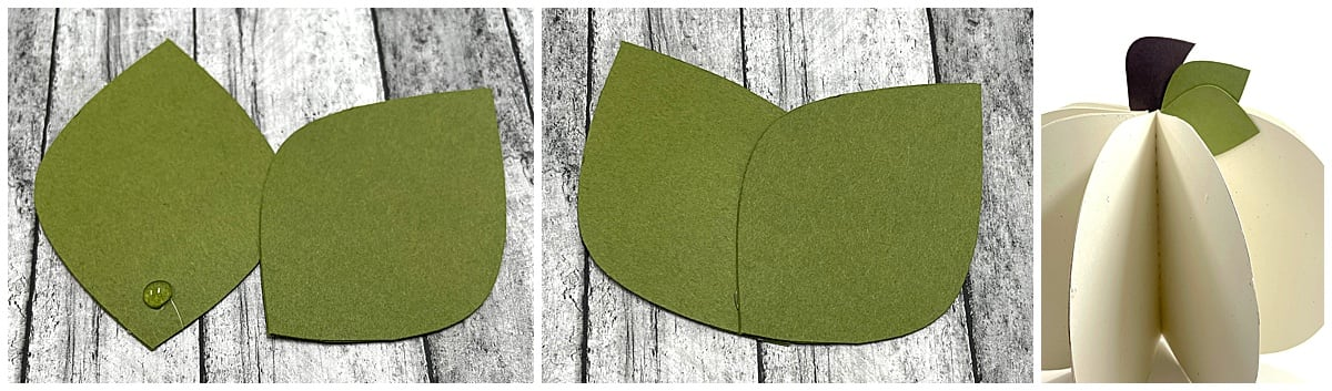 adding stems and leaves to 3d pumpkin
