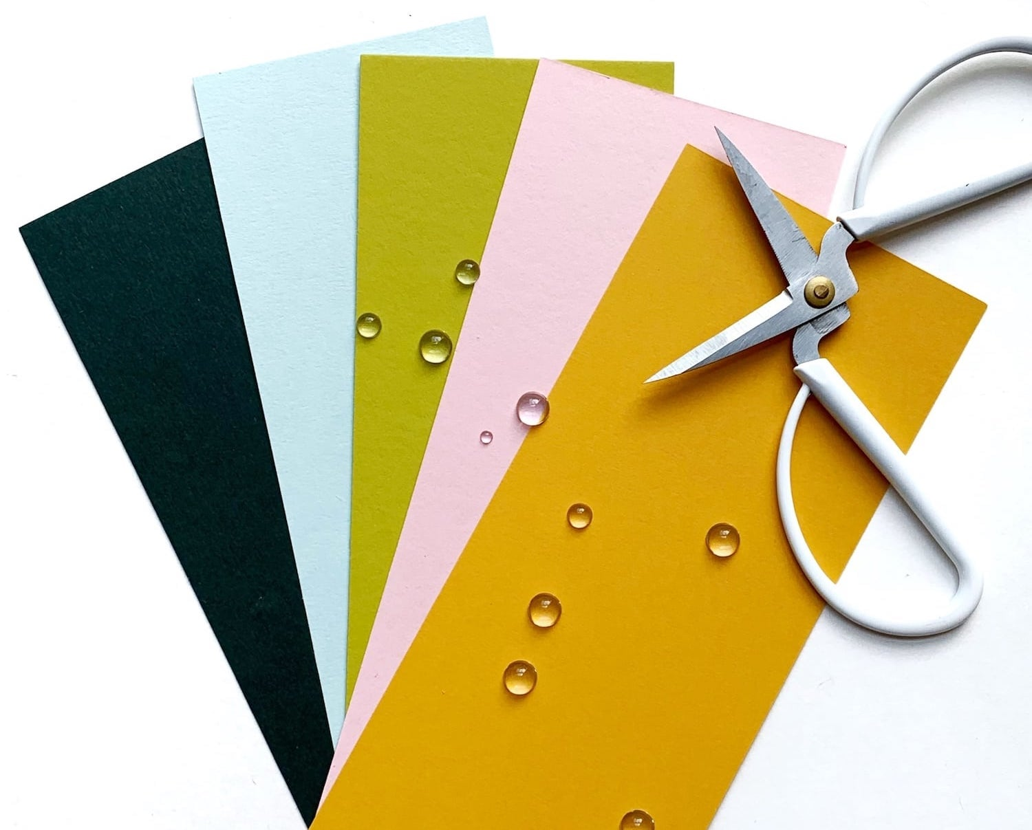 racing green, sno cone, chartreuse, candy pink, and gialloro papers for sea themed layout