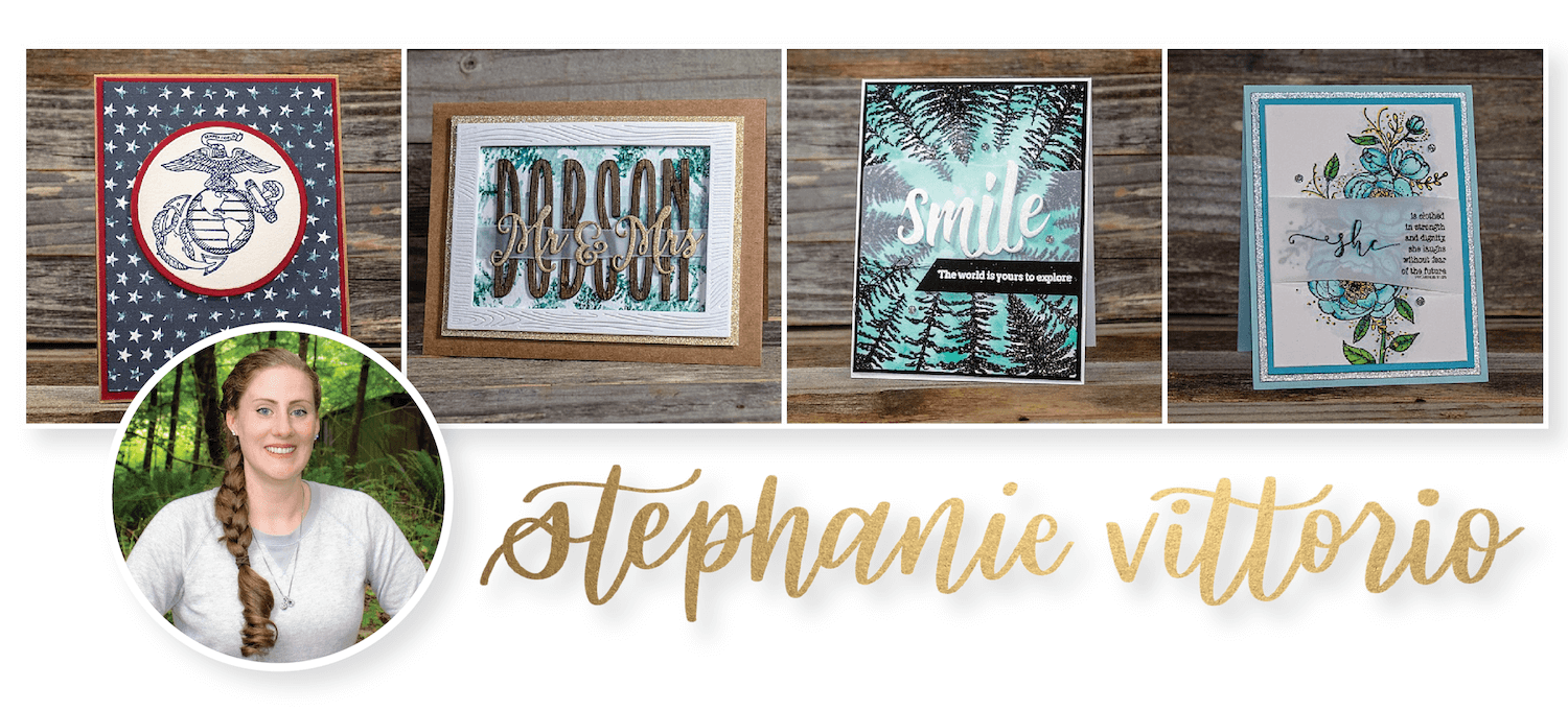 Stephanie Vittorio of Coffee Stamps Chaos