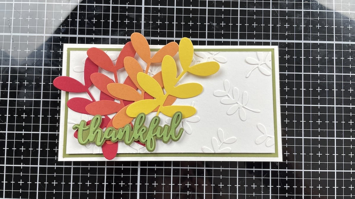leaves added to Bright White background