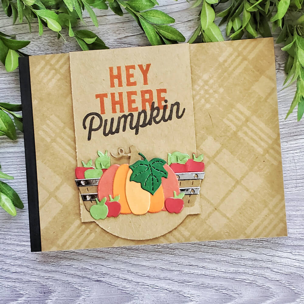 Pumpkin and Apple Harvest Themed Thanksgiving Invitation