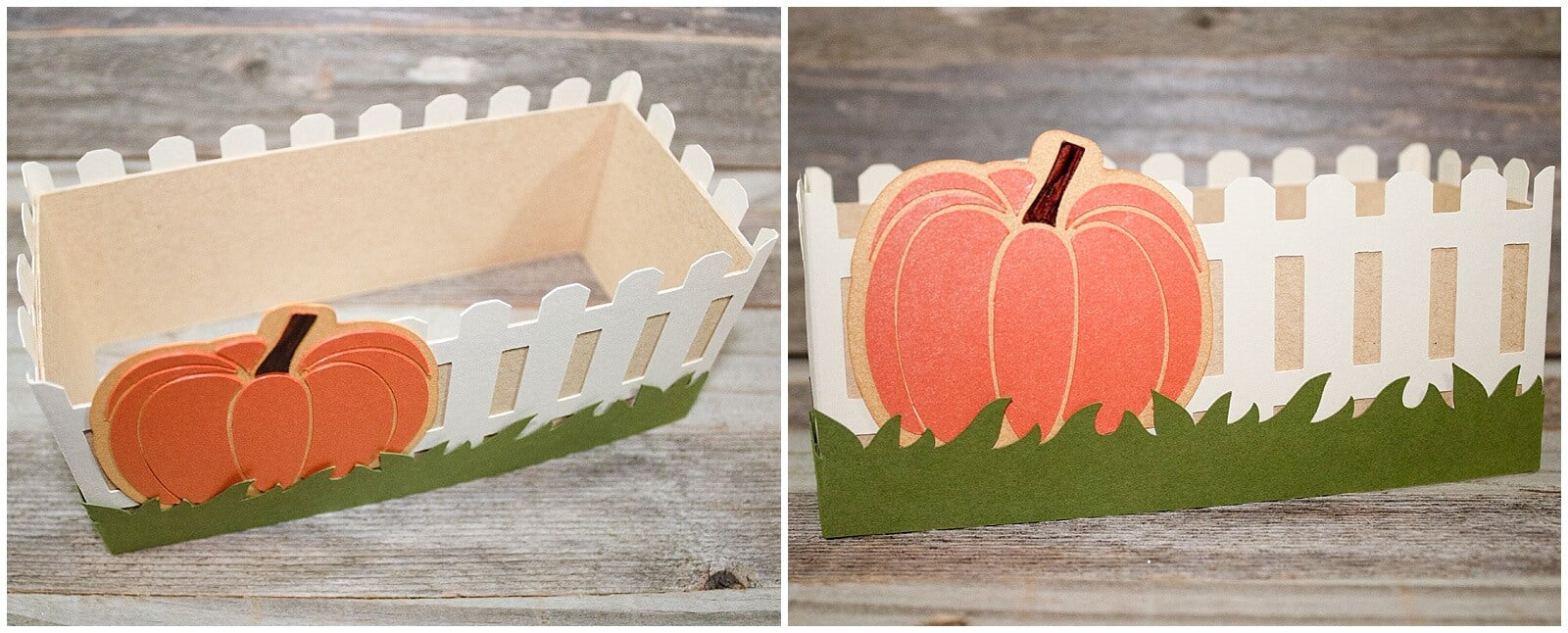 3d cardstock paper thanksgiving gratitude tree centerpiece fence box