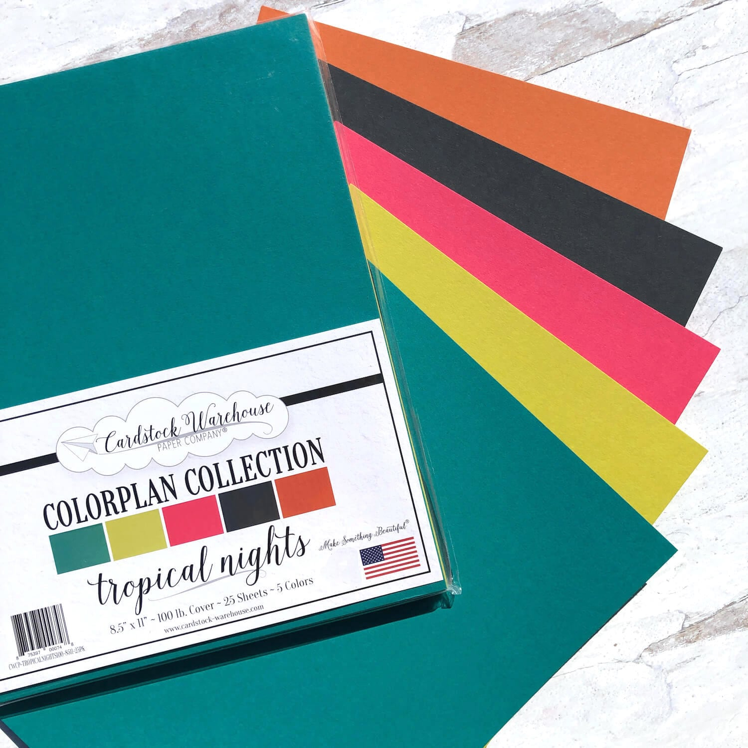 Tropical Nights Colorplan Multi-Pack from Cardstock Warehouse Paper Company