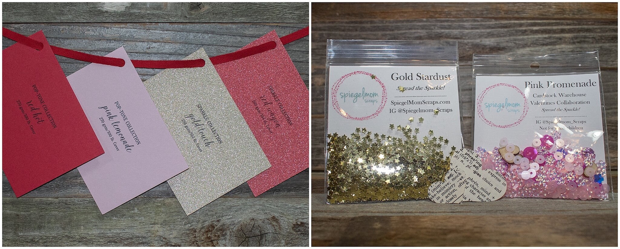 Valentine Cardstock Paper Shaker Cards Cardstock Warehouse Swatches With Sequins