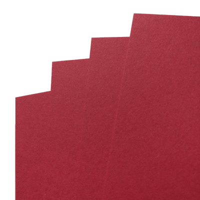 Electric Red Construction Cardstock fans