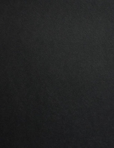Ebony Colorplan Cardstock paper 8.5 x 11 100 lb heavyweight cover