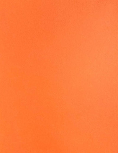 Mandarin Orange Colorplan Cardstock paper 8.5 x 11 100 lb heavyweight cover