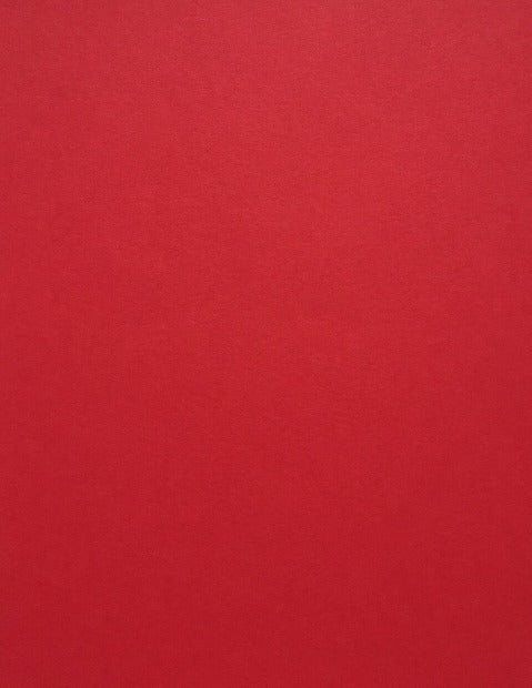 Red Hot Poptone Cardstock paper 100 lb heavyweight Cover 8.5 x 11
