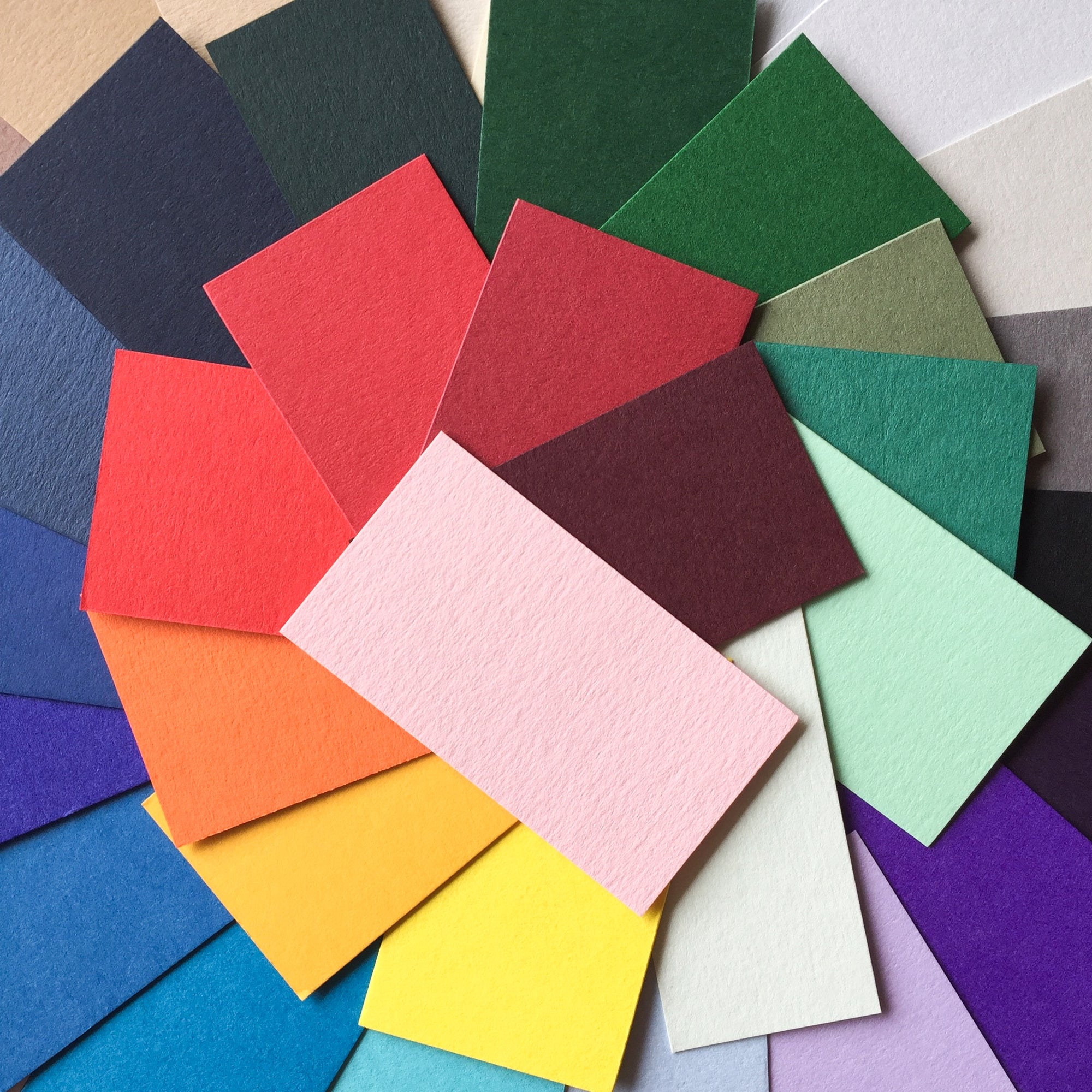 Colorplan Cardstock Swatches