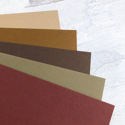 Earth Tones Cardstock Collection
