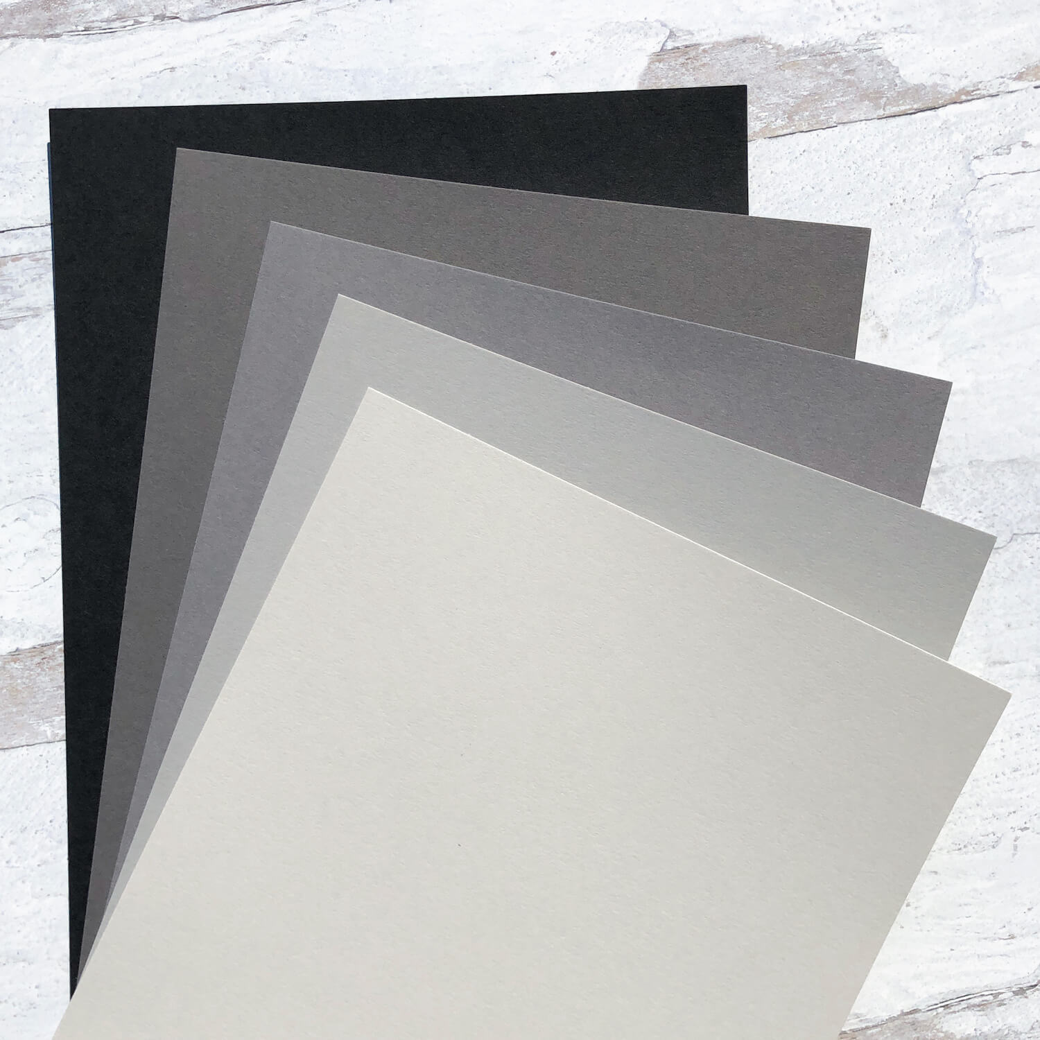Grayscale Cardstock Collection