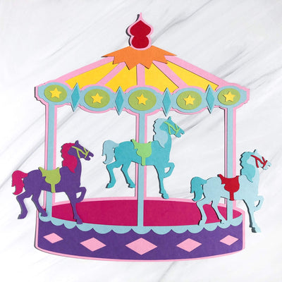 Merry-Go-Round Cardstock Collection