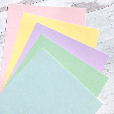Pretty in Pastels Cardstock Collection
