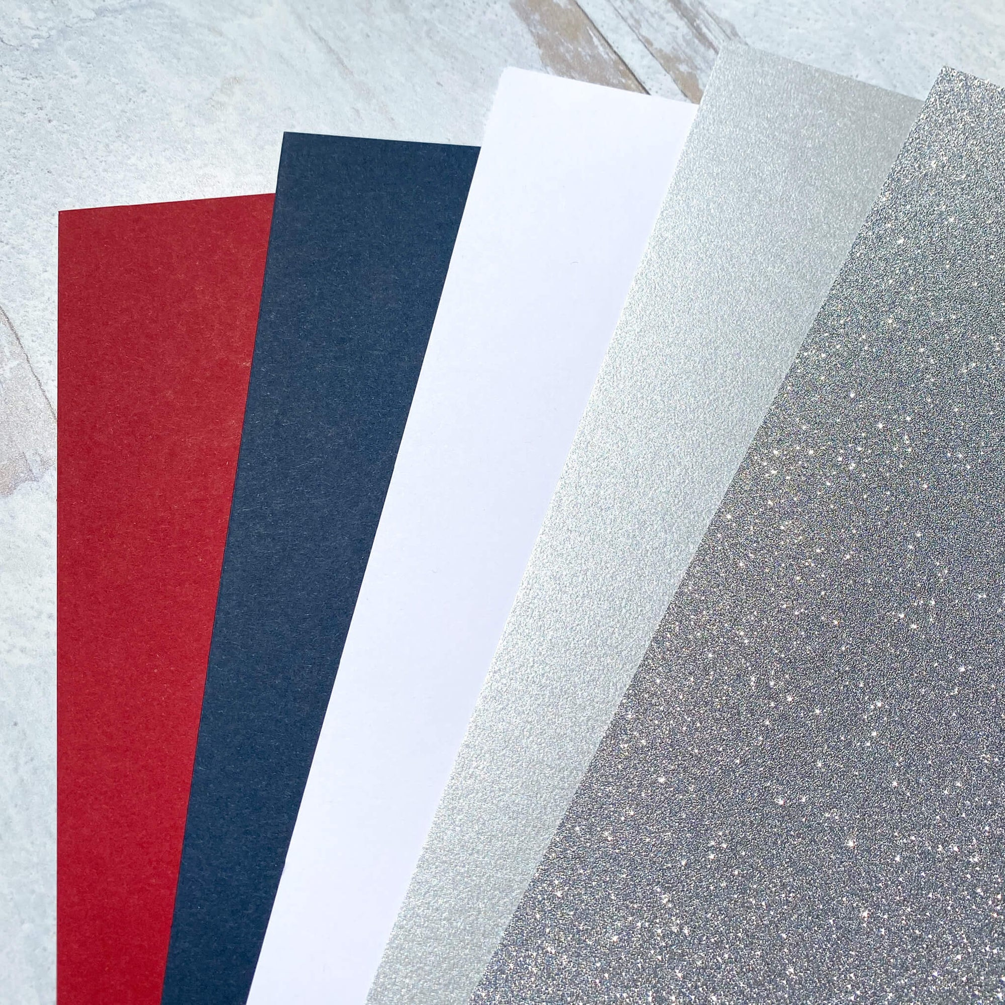 Stars and Stripes Cardstock Collection