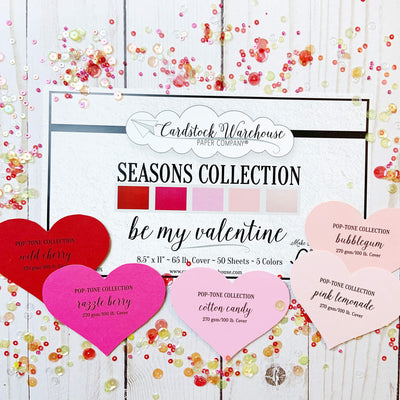 Valentine's Day Cardstock Collection