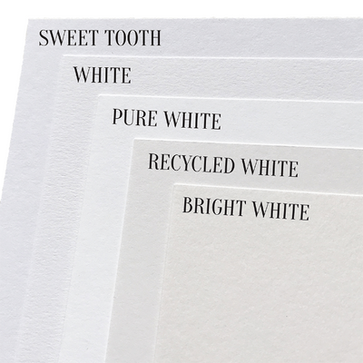 white cardstock paper comparison
