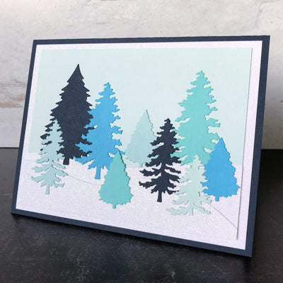 Winter Blues Cardstock Collection