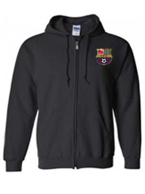 CFC Zip-Up Hooded Sweatshirt
