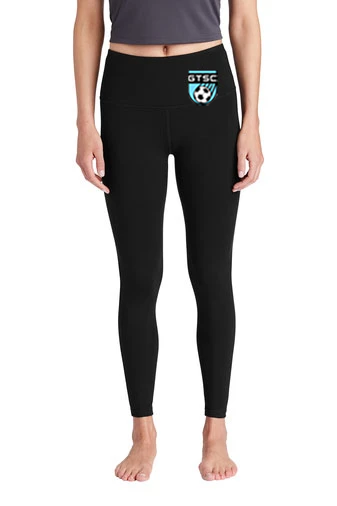 Sport-Tek ® Ladies High Rise 7/8 Legging