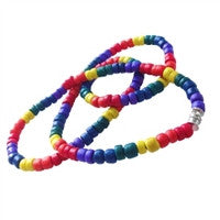 Gay Pride Coco Beads Rainbow Necklace